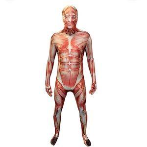 Muscle Morphsuit Zombie Anatomy Onesie Halloween